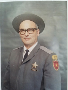 Morton County Sheriff Ed Wingenbach