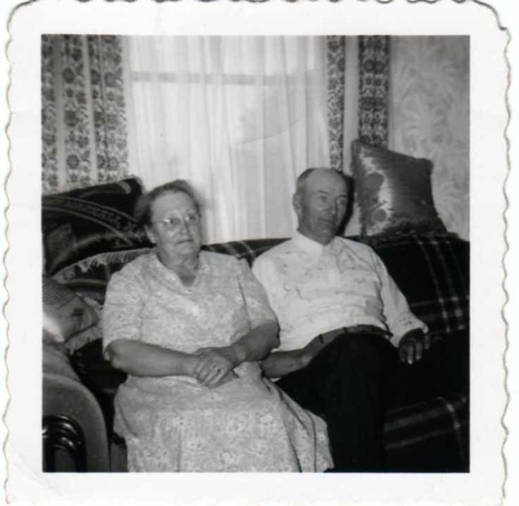Grandma & Grandpa Schultz