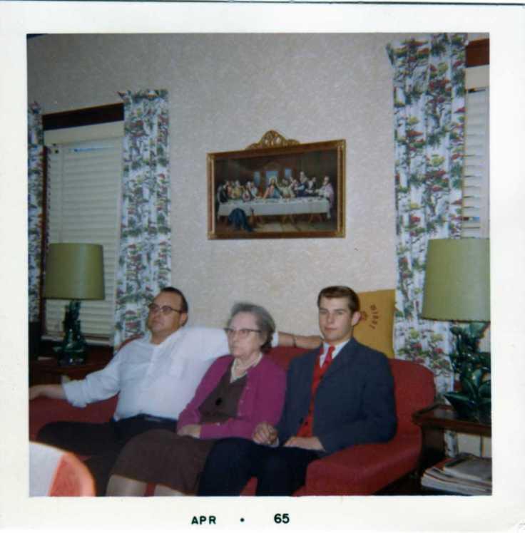 Bud, Grandma & Frank