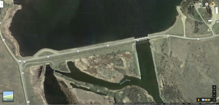 Darling Dam from Google