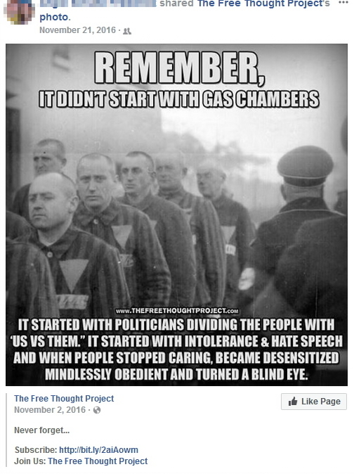 it didn't start with gas chambers 1