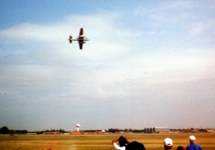 B-25 Mitchell, Fargo Air Show, Fargo, ND, 1997; Nikon Nicetouch II, 35 mm