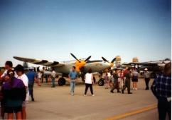P-38 Lightning, Fargo Air Show, 1995; Nikon Nicetouch II, 35 mm