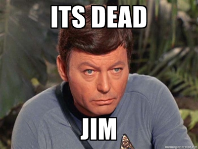 its dead jim